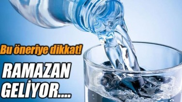 Ramazan Önerilerine Dikkat – Susuzluğu Gideren Gıdalar!