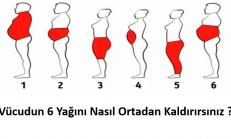 Vücudun 6 Yağını Nasıl Ortadan Kaldırırsınız. Çok Basit