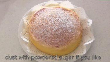 Sadece 3 Malzemeyle Yapılan ve Herkesin Ağzının Suyunu Akıtan Japon Cheese Keki