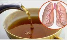 Bu Doğal Çay Akciğerlerinizi İyileştirir romatizmaya iyi gelir