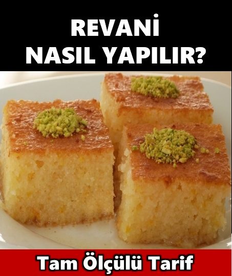 Revani Nasıl Yapılır?