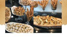 Cevizli kol düğmesi kurabiye & Çörek otlu kurabiye
