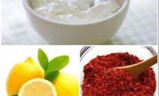 Zayıflatan, Göbek Eriten Limonlu Yoğurt Kürü