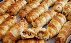 Yufkali Milföylu çıtır börek