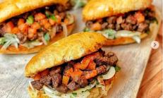 Mini sandviç ekmegi&Evde pratik Tantuni