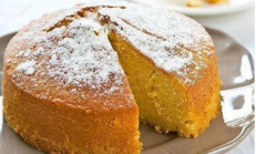 Sosuyla Pişen Kek