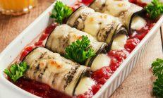Rulo Rulo: Domates Soslu Izgara Patlıcan Tarifi
