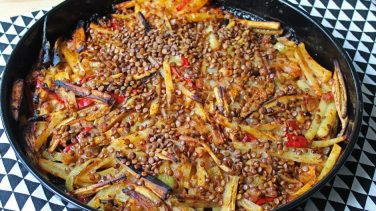 Tüm Aile Doysun: Patatesli Patlıcan Tava Tarifi