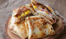 Pratik Hazırlanan: Tavada Krep Böreği Tarifi