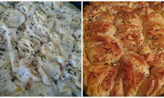 Sodalı börek (patatesli,kaşarlı)