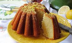 Limonlu İrmikli Kek
